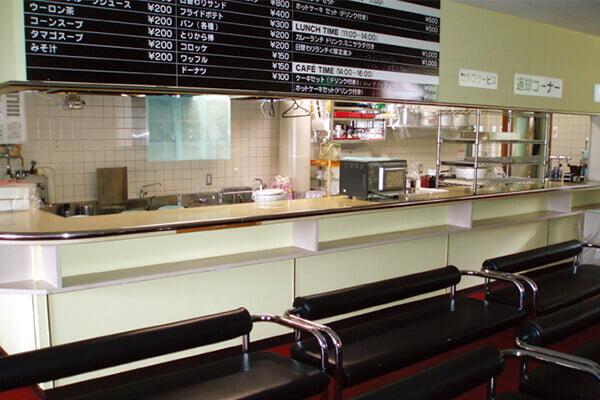 喫茶軽食コーナー