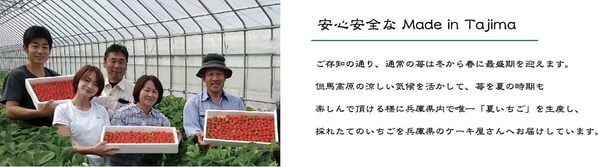 安心安全なmede in Tajima